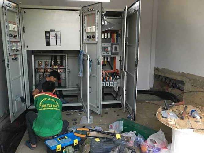 thi công hệ thống điện tại nhà xưởng
