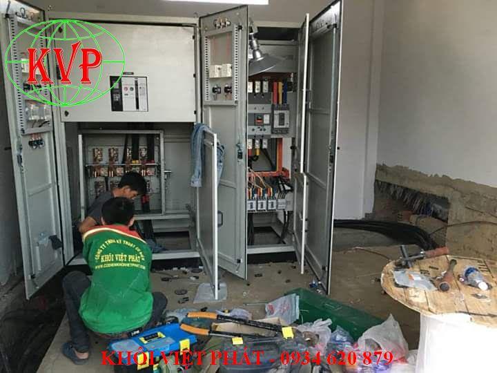 thi công điện nhà xưởng